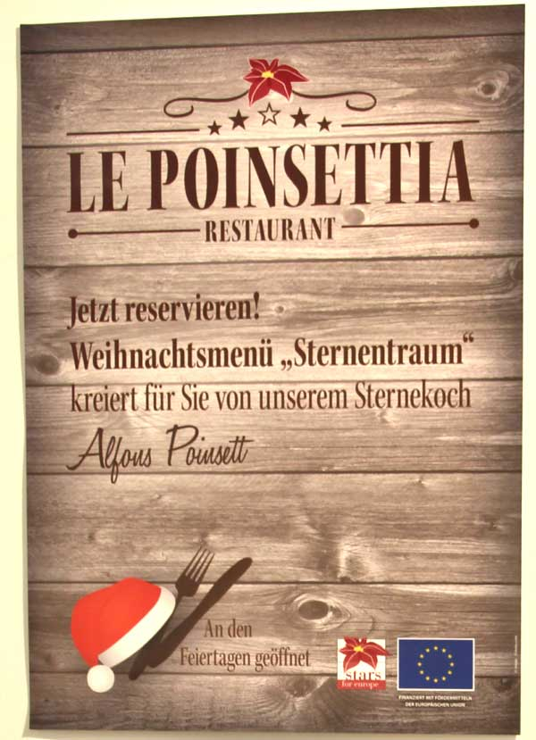 Restaurant - Le Poinsettia